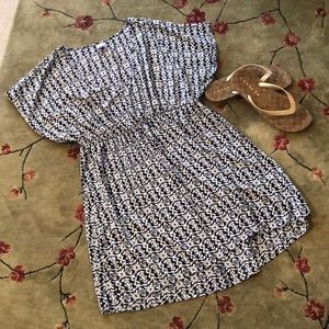 Pretty Kimono Sleeve Dress Sz XL